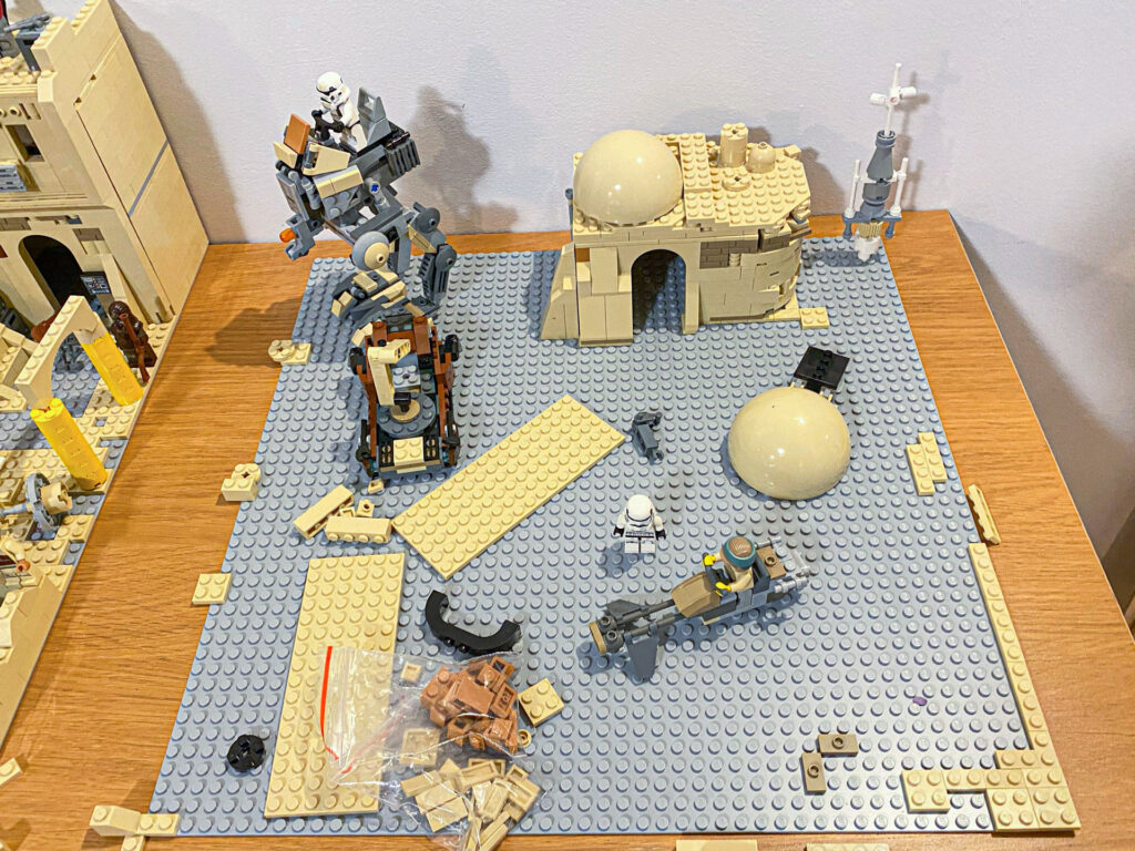 lego star wars moc plate base