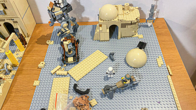 lego star wars moc plate base