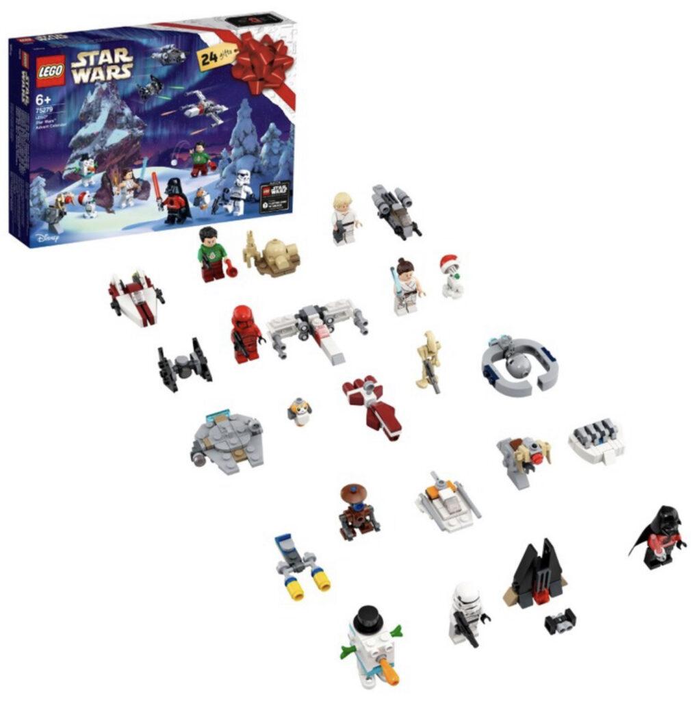 LEGO Star Wars Kalendarz adwentowy figurki